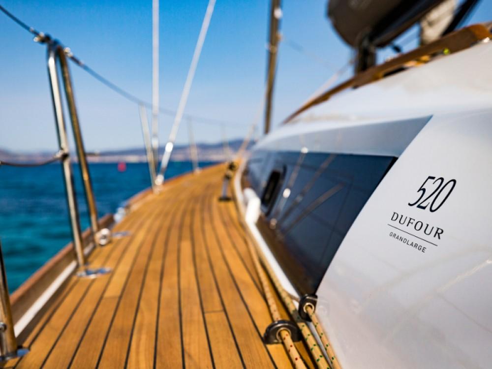 Boat rental Primošten cheap Dufour 520 GL