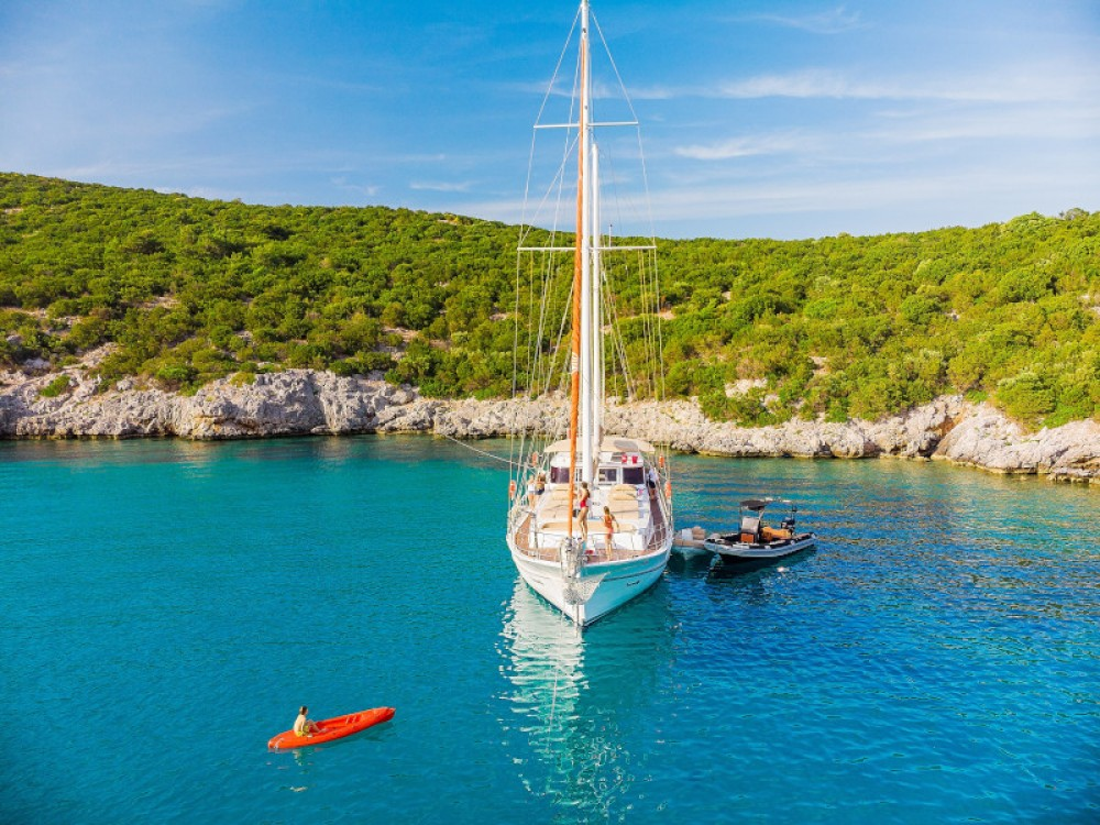 Gulet Tranquility between personal and professional Bodrum