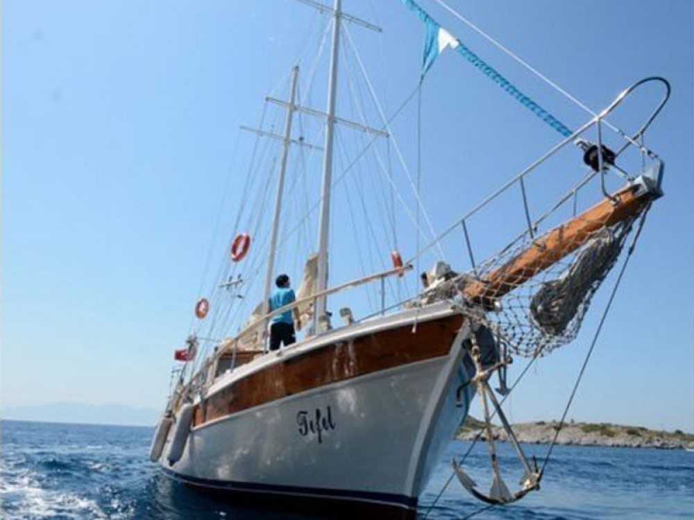 Gulet Tifil between personal and professional Bodrum