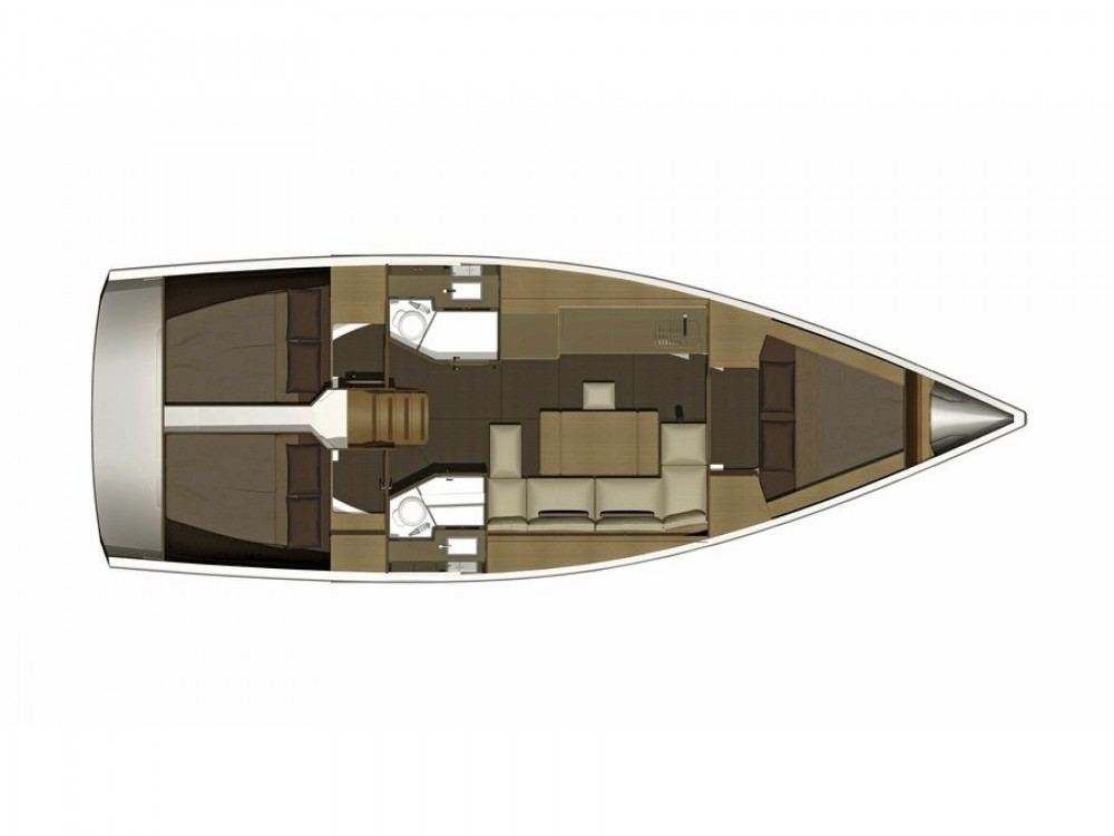 Hire Sailboat with or without skipper Dufour Medulin