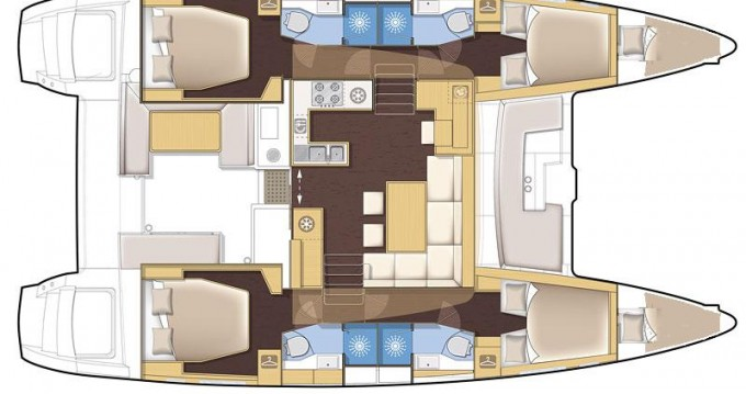 Boat rental Veruda cheap Lagoon 450
