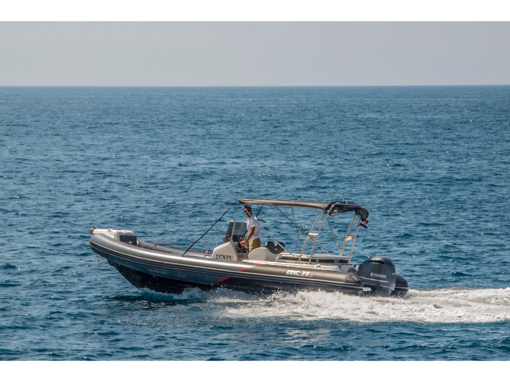 Boat rental Pula cheap BSC 75