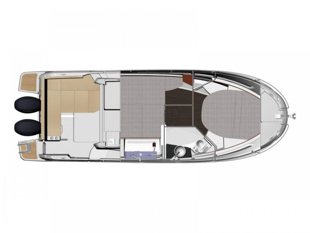 Boat rental Pula cheap Jeanneau Merry Fisher 895
