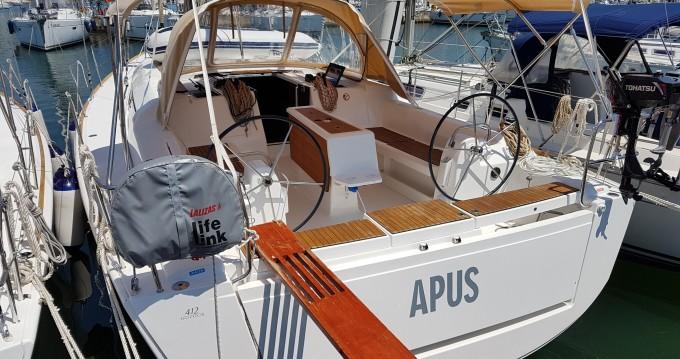 Rental Sailboat in Veruda - Dufour Dufour 412 Grand Large