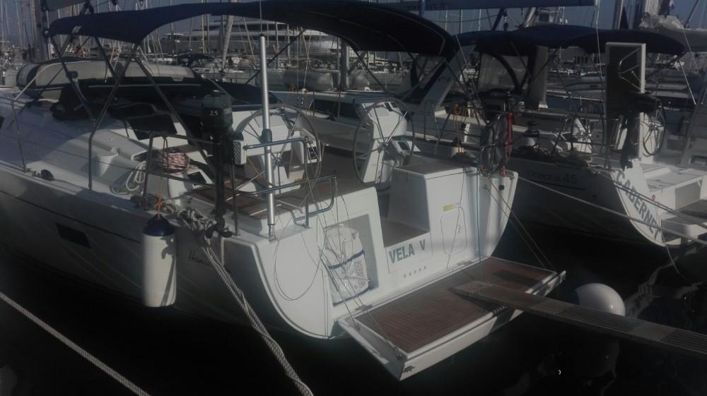 Boat rental Hanse Hanse 455 in Kaštel Gomilica on Samboat