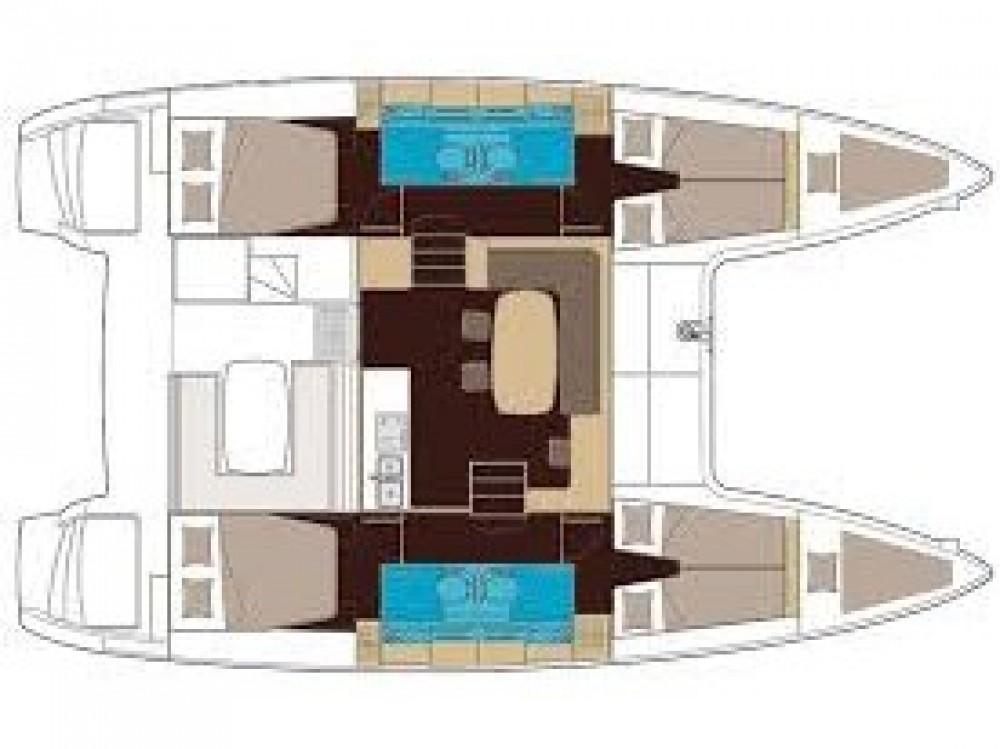 Rental Catamaran in Marina Kaštela - Lagoon Lagoon 40