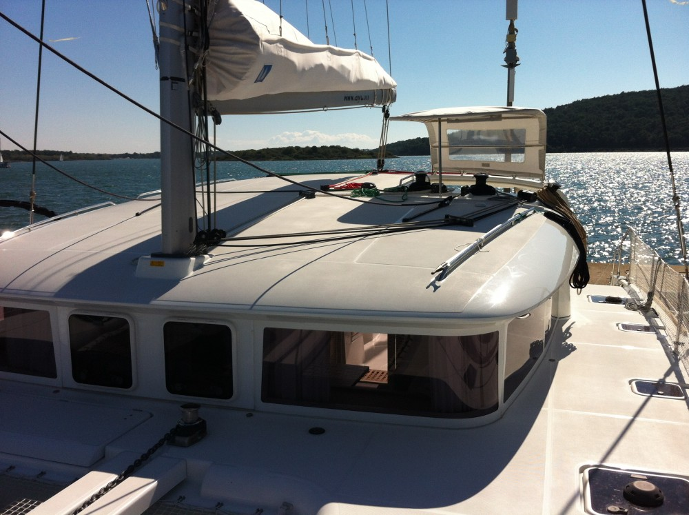 Hire Catamaran with or without skipper Lagoon Marina Medulin