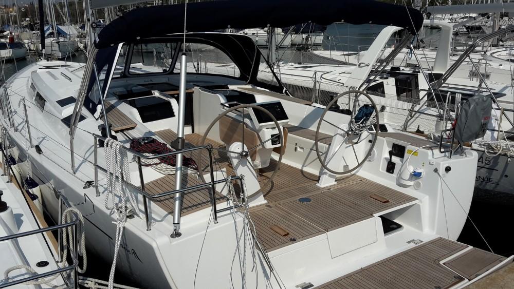 Boat rental Hanse Hanse 505 in Marina Kaštela on Samboat