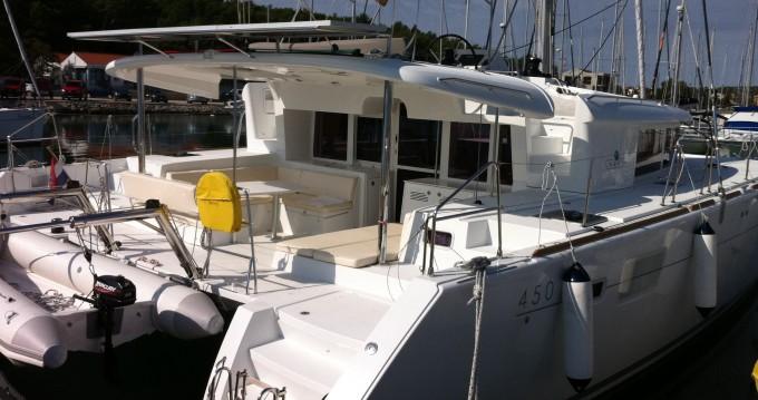 Rental Catamaran in Dubrovnik - Lagoon Lagoon 450