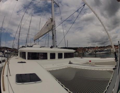 Boat rental Dubrovnik cheap Lagoon 450