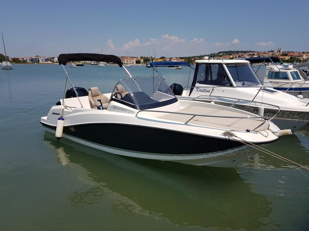Rental Motor boat in Medulin -  Quicksilver activ 605 sundeck