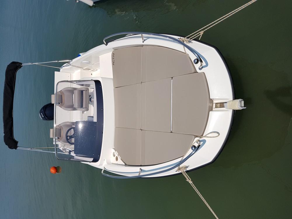 Rental yacht Medulin -  Quicksilver activ 605 sundeck on SamBoat