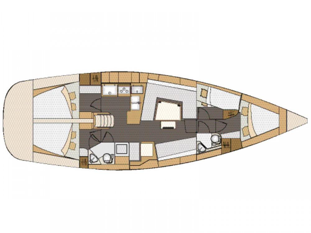 Rental Sailboat in Grad Biograd na Moru - Elan Elan 45 Impression