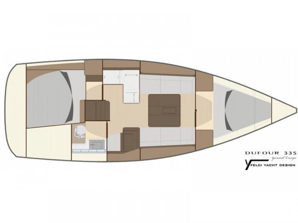 Boat rental Dufour Dufour 335 GL in Marmaris on Samboat
