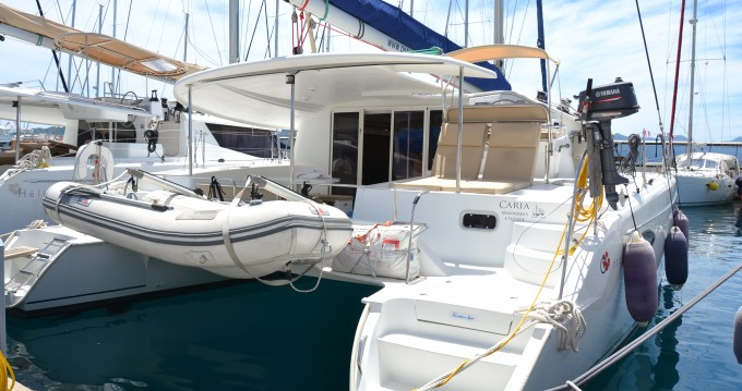 Fountaine Pajot Orana 44 between personal and professional Marmaris