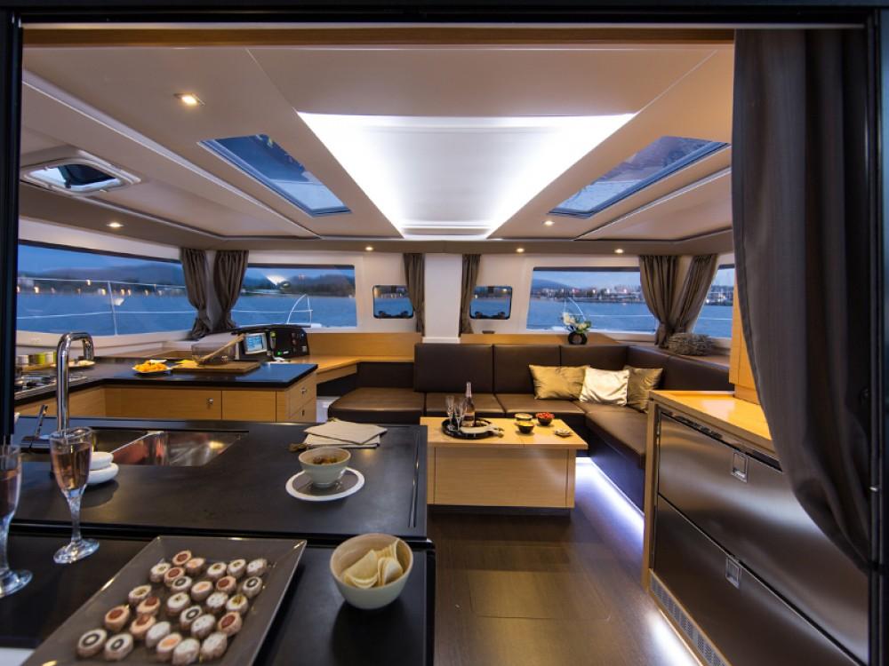 Boat rental Marmaris cheap Helia 44 Quatuor