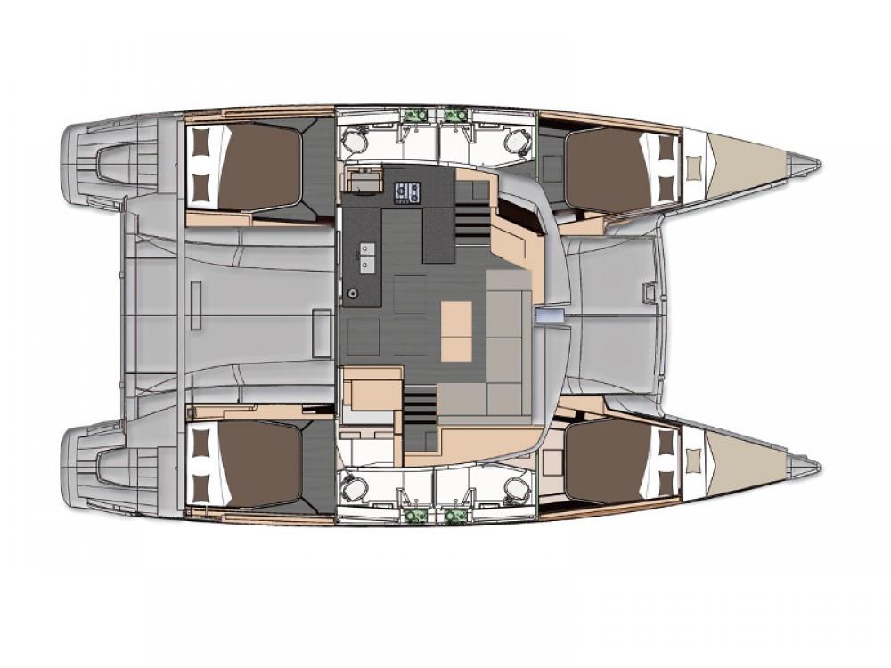 Rental Catamaran in Marmaris - Fountaine Pajot Helia 44 Quatuor