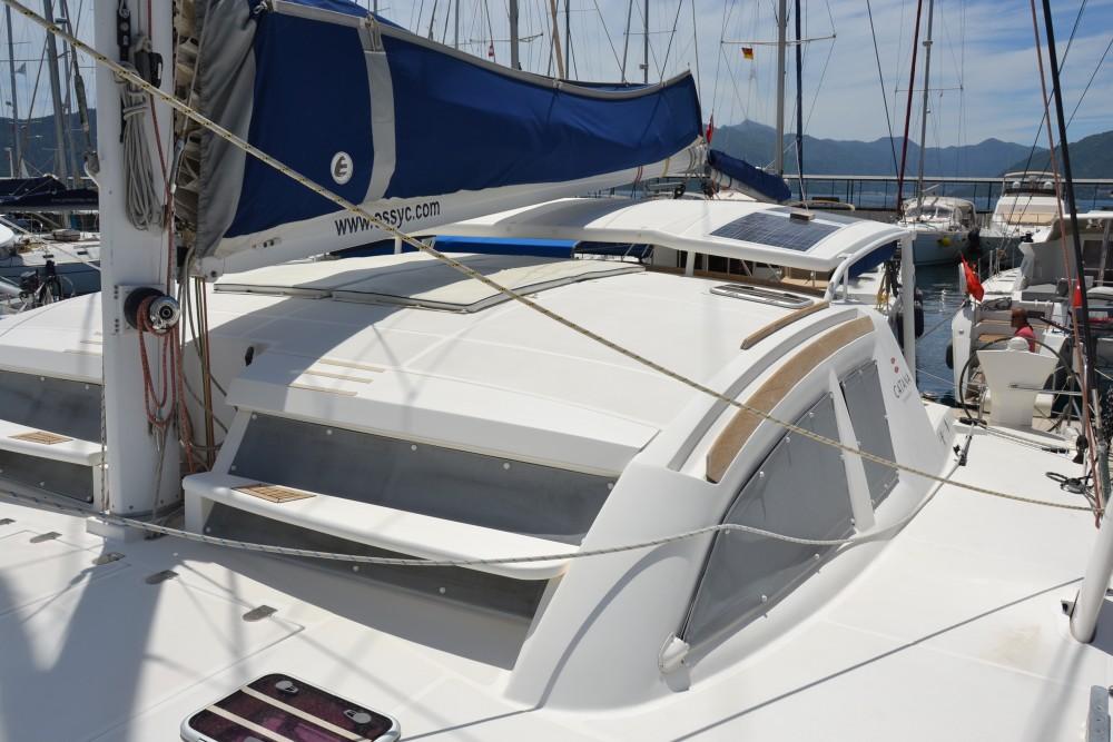 Boat rental Marmaris cheap Catana 47 Carbon