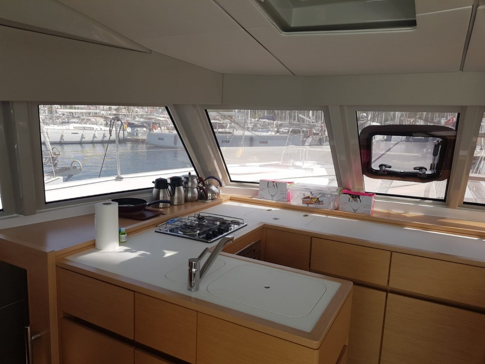 Hire Catamaran with or without skipper Nautitech Marmaris