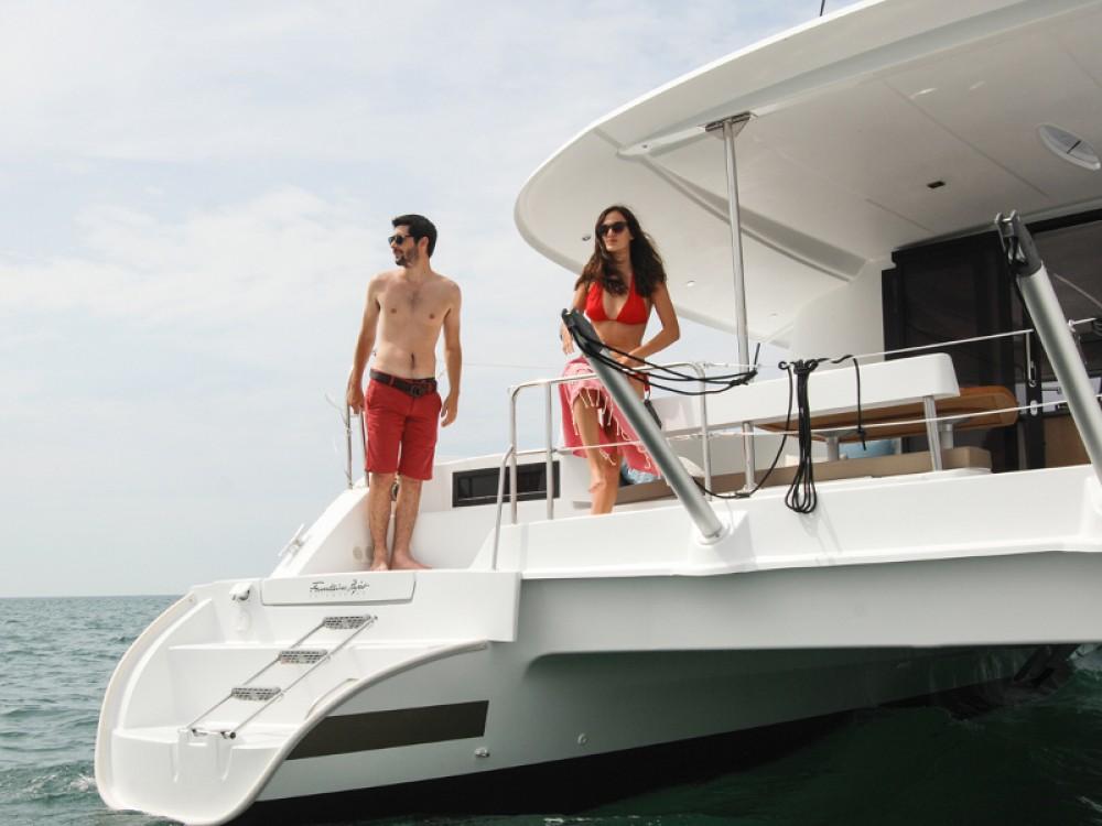 Rental yacht Marmaris - Fountaine Pajot Lipari 41 Maestro evo on SamBoat