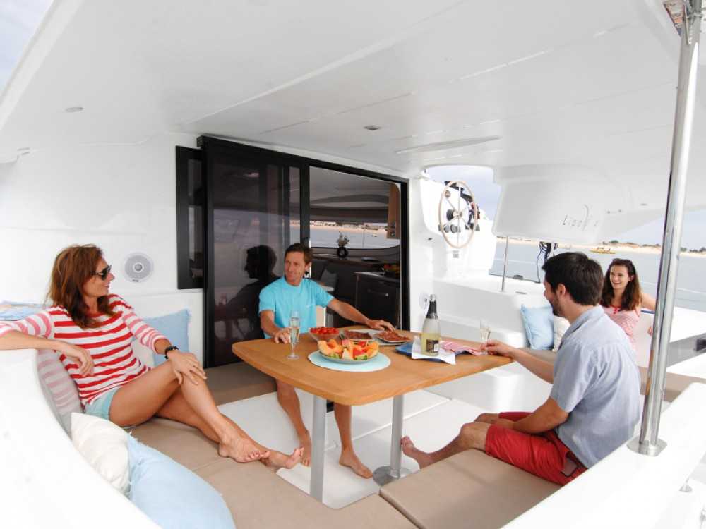 Boat rental Marmaris cheap Lipari 41 Maestro evo