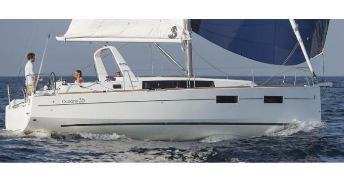 Boat rental Marmaris cheap Oceanis 35