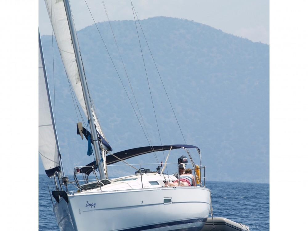 Boat rental Fethiye cheap Oceanis 323