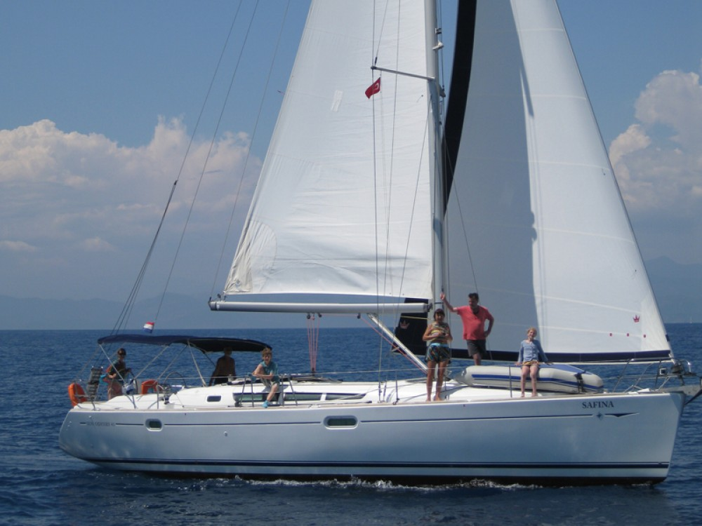 Rental Sailboat in Fethiye - Jeanneau Sun Odyssey 45