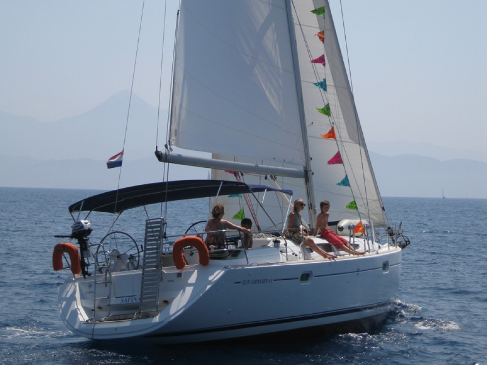 Rental yacht Fethiye - Jeanneau Sun Odyssey 45 on SamBoat