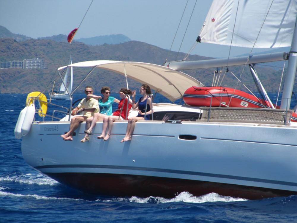 Rental Sailboat in Fethiye - Bénéteau Oceanis 43