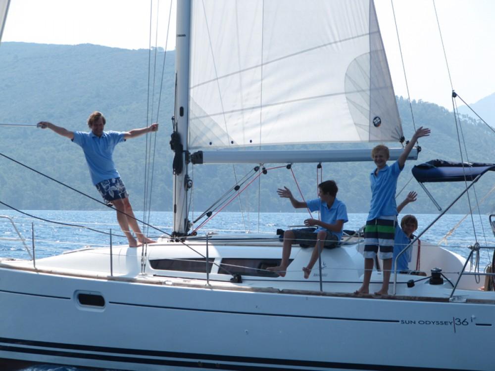 Boat rental Fethiye cheap Sun Odyssey 36i