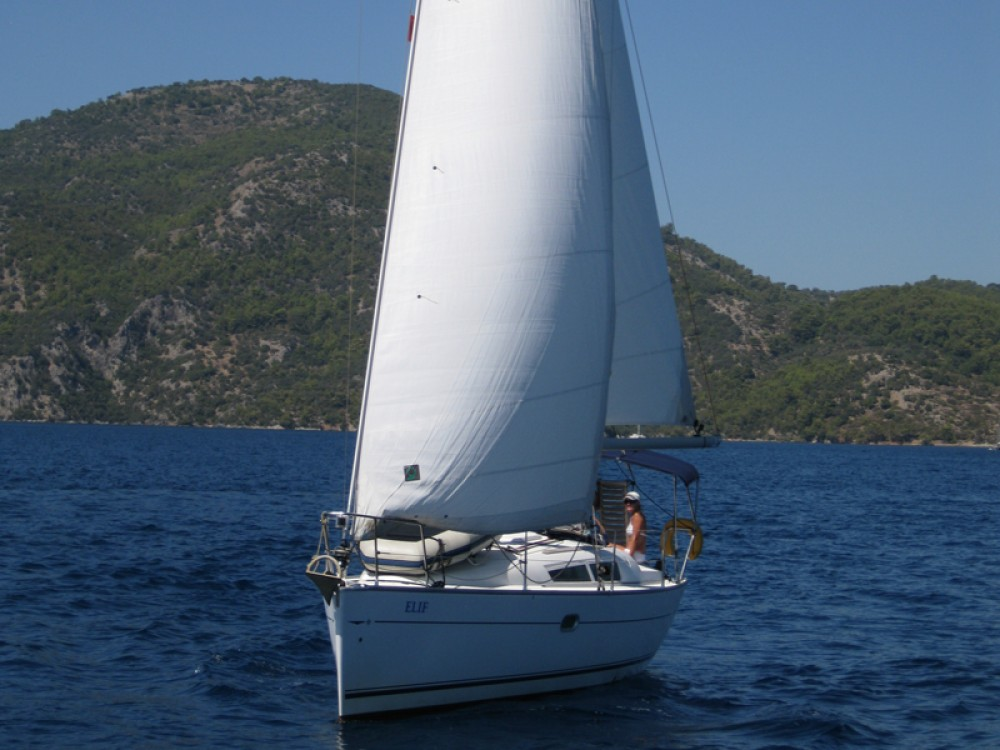 Boat rental Fethiye cheap Sun Odyssey 32 i