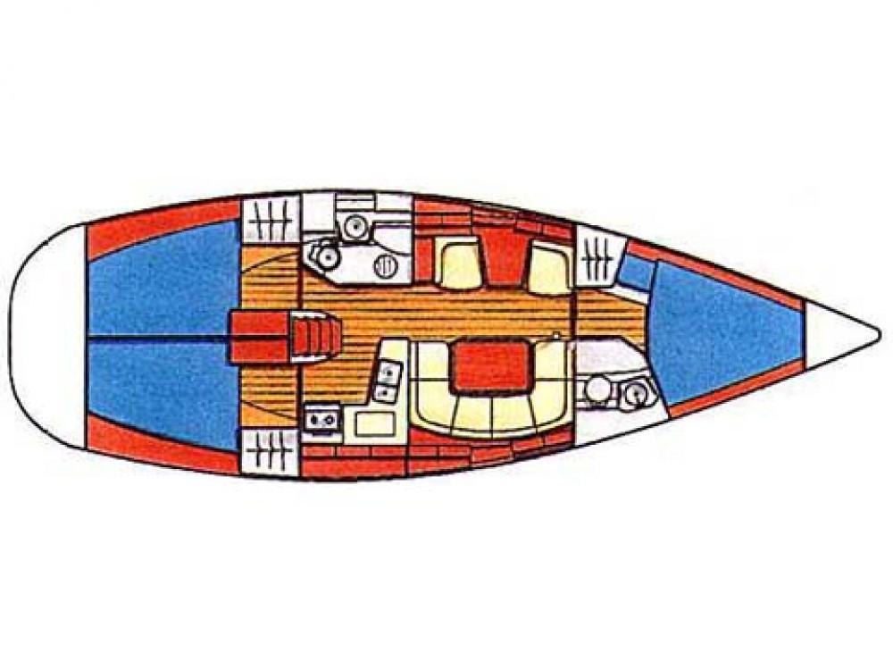 Rental Sailboat in Fethiye - Jeanneau Sun Odyssey 419