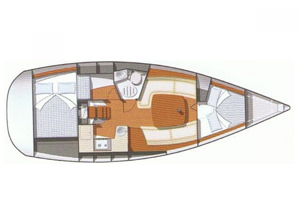 Rental Sailboat in Fethiye - Jeanneau Sun Odyssey 32 i