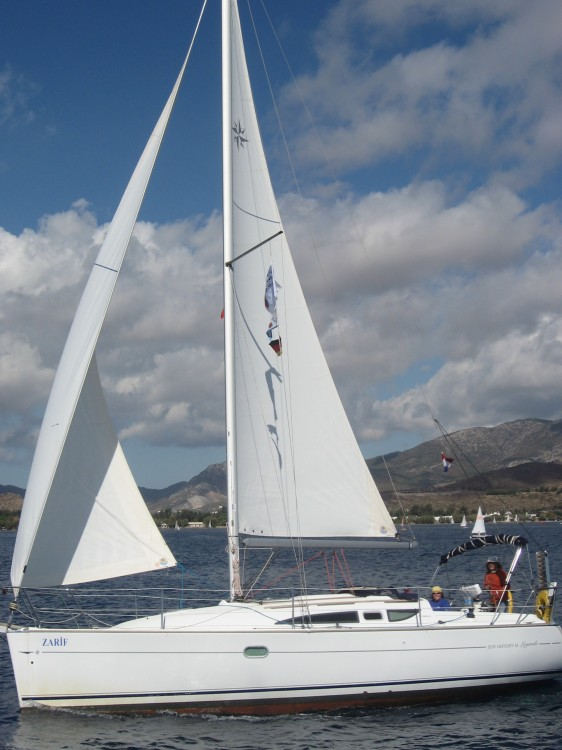 Jeanneau Sun Odyssey 32 between personal and professional Fethiye