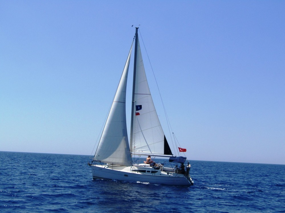Boat rental Fethiye cheap Sun Odyssey 32