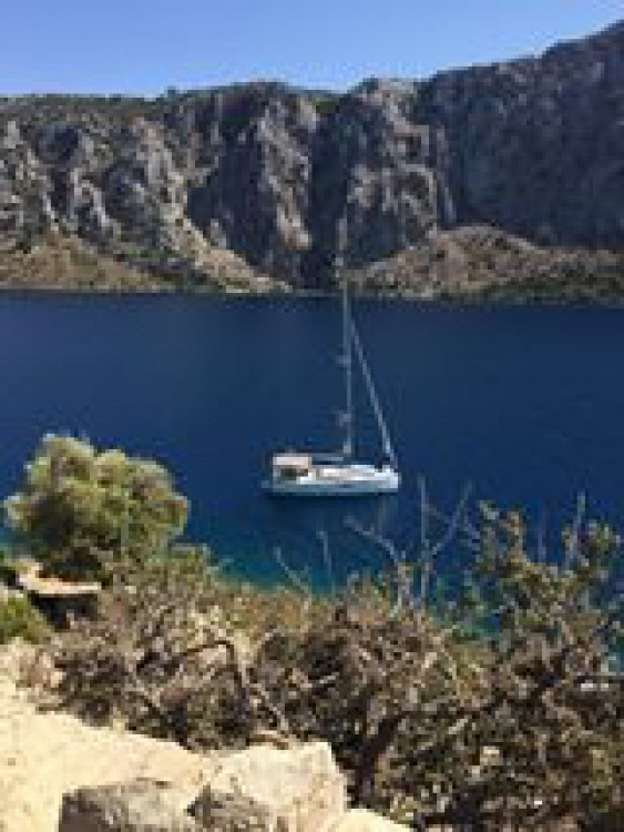 Jeanneau Sun Odyssey 349 between personal and professional Fethiye