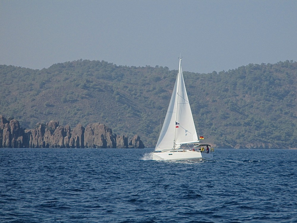 Rental Sailboat in Fethiye - Jeanneau Sun Odyssey 349