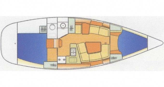 Boat rental Fethiye cheap Sun Odyssey 35