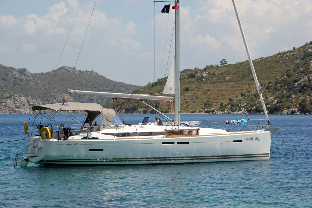 Jeanneau Sun Odyssey 439 between personal and professional Fethiye
