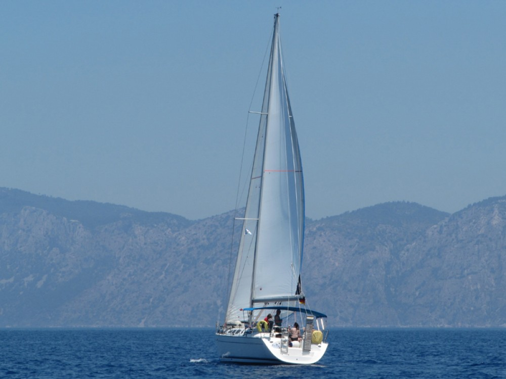 Rental Sailboat in Fethiye - Jeanneau Sun Odyssey 43
