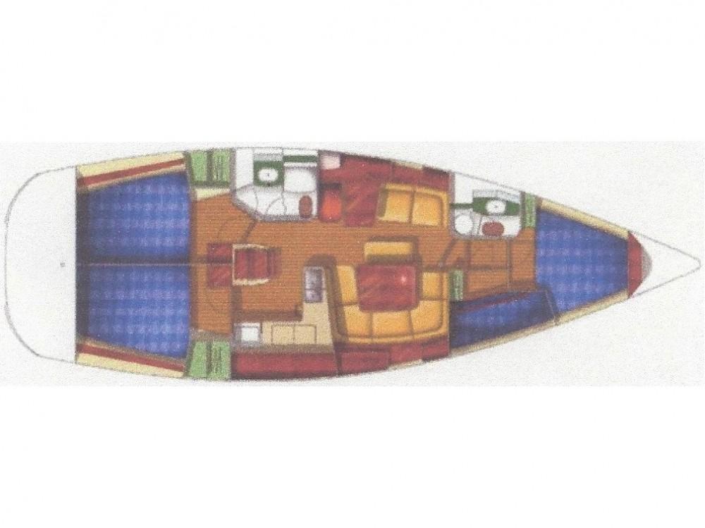 Rental yacht Fethiye - Jeanneau Sun Odyssey 43 on SamBoat