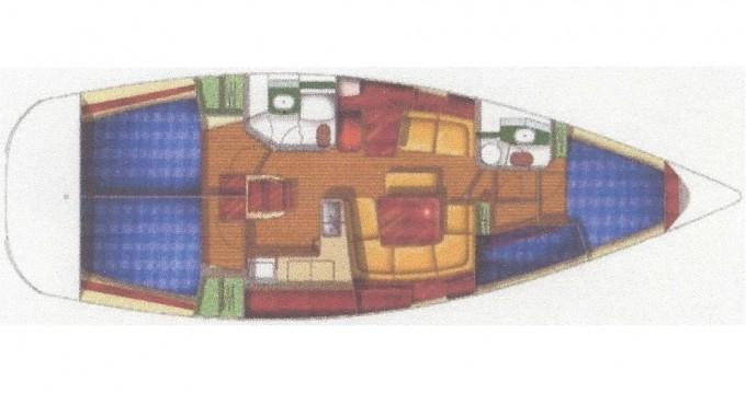 Rent a Jeanneau Sun Odyssey 43 Fethiye