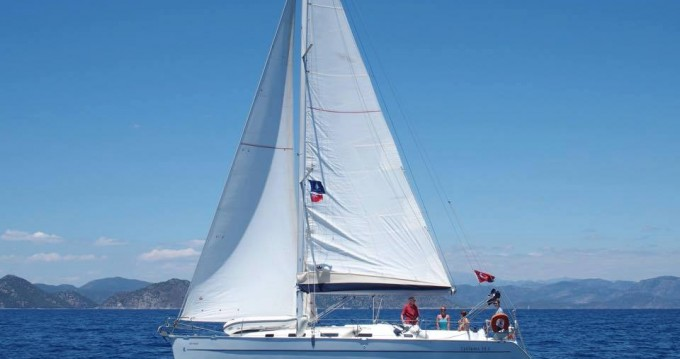 Boat rental Bénéteau Cyclades 39.3 in Fethiye on Samboat