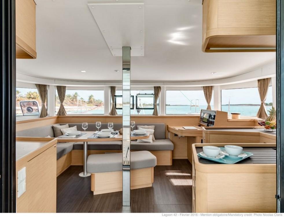 Boat rental Capo d'Orlando cheap Lagoon 42 (A/C + WaterMaker)