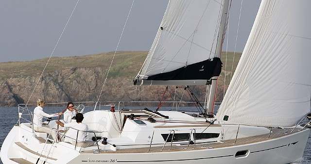 Jeanneau Sun Odyssey 36i between personal and professional Fethiye