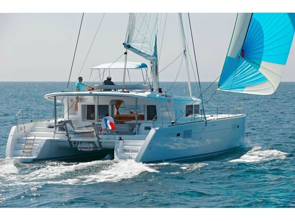 Lagoon Lagoon 450F (A/C+WaterMaker+GEN) between personal and professional Capo d'Orlando