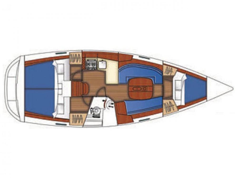 Rental Sailboat in Fethiye - Bénéteau Oceanis 343