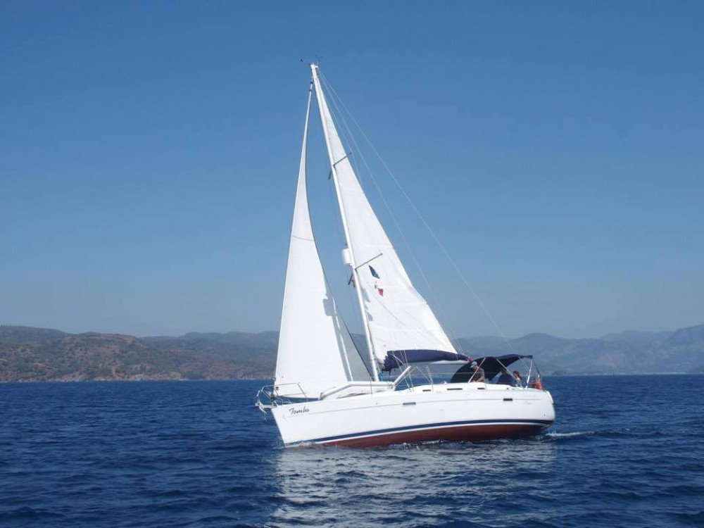 Bénéteau Oceanis 343 between personal and professional Fethiye