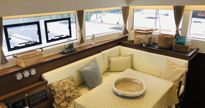 Boat rental Capo d'Orlando cheap Lagoon 40
